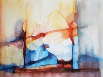 Watercolour 'Prayer'